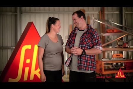 Brad and Lara | DIY fixes using Sika Anchorfix 1 | Sika Australia