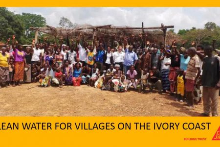CLEAN WATER FOR VILLAGES ON THE IVORY COAST