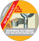 SIKA® MULTISEAL BT is a self-adhesive sealing tape made of a butyl rubber compound