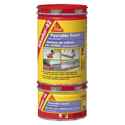 Sikadur-42 (au) is ready-to-mix pourable epoxy grout