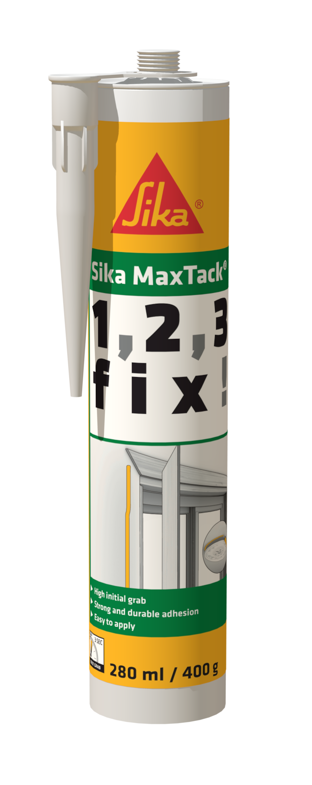 Sika MaxTack 1,2,3 FIX 280ml 400g 2017