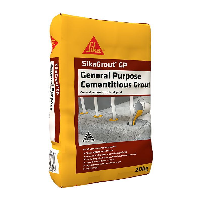 SIKA® GROUT GP | Shrinkage Compensating Concrete | Sika Australia