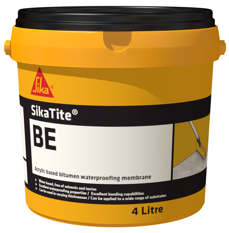 SikaTite® BE waterproof membrane, sealant, protective coating or adhesive