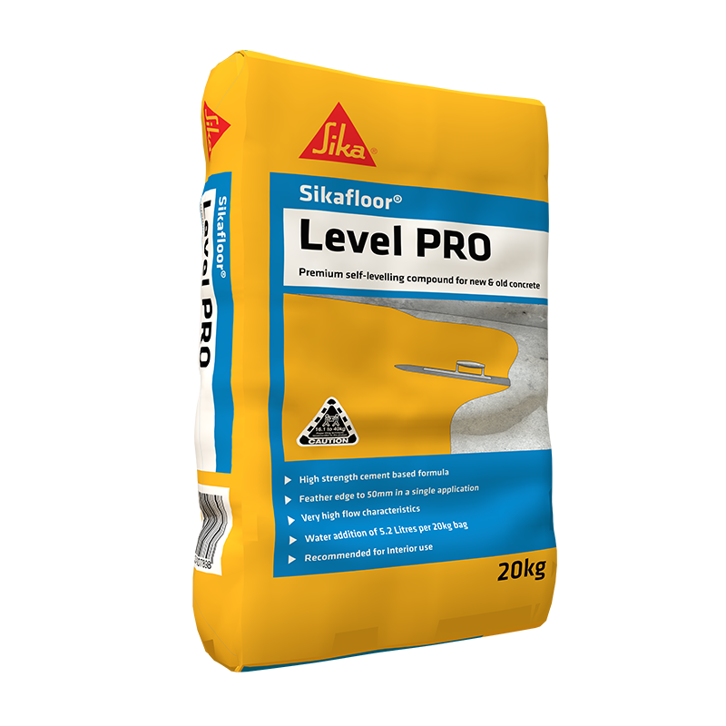 Sikafloor® Level PRO is a self levelling underlay for fast repairs